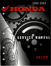 Sensational Honda Cr125R 1992 1997 Manuals Spiritservingveterans Wood Chair Design Ideas Spiritservingveteransorg
