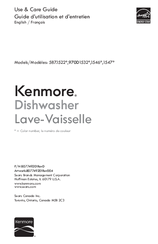 Kenmore 1546 Use & Care Manual