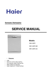 Haier DW12-BFE ME Service Manual