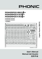 Excellent price / reviews phonic powerpod 1860 audiofanzine.