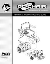 pride go chair manuals rh manualslib com pride mobility go chair manual Pride Mobility Go Chair