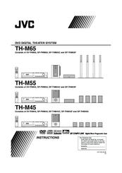 jvc th m45 progressive scan home theater system manuals rh manualslib com Home Theater Manual JVC Th31 XV JVC Sound Bar Htib System