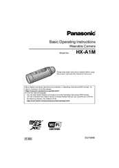Panasonic HX-A1M Basic Operating Instructions Manual