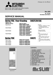 Mitsubishi Electric PSA-RP100GA Service Manual
