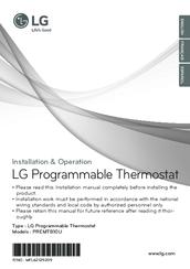 LG PREMTB10U INSTALLATION & OPERATION MANUAL Pdf Download