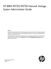 HP IBRIX X9720 System Administrator Manual