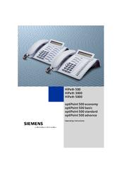 siemens hipath 3000 v3 0 or later gigaset m1 professional manuals rh manualslib com Siemens PBX System Siemens Products