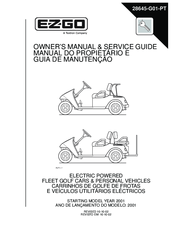 e z go pds freedom se manuals rh manualslib com ez go manual 2001 ez go manual free download