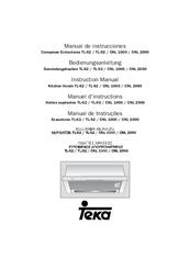 Teka Cnl 2000 Manuals