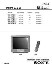 sony wega 27 manual product user guide instruction u2022 rh testdpc co sony trinitron wega tv manual sony trinitron tv guide