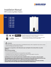 navien npe 240a manuals we have 8 navien npe 240a manuals available for pdf installation manual operation manual quick installation manual brochure specs