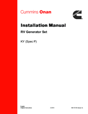MINS 4.0 KY INSTALLATION MANUAL Pdf Download. Onan Generator Hdkbb Wiring Schematic on