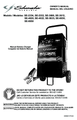 schumacher battery charger instructions