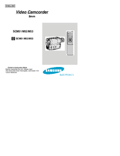 Samsung SCM51 Owner's Instruction Book