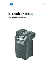konica minolta bizhub 4050 manuals rh manualslib com Konica Minolta Bizhub C450 Konica Minolta Bizhub C353