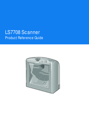 SYMBOL LS7708 PRODUCT REFERENCE MANUAL Pdf Download