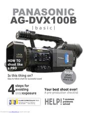 panasonic ag dvx100b user manual pdf download rh manualslib com AG- DVX100A AG- DVX100A