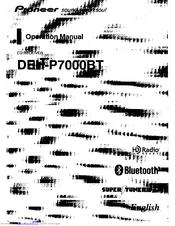 pioneer deh p7000bt xn manuals rh manualslib com  deh-p7000bt manual español
