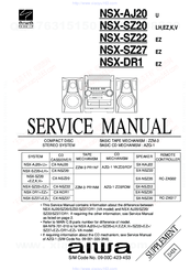 Aiwa CX-NAJ20 Service Manual