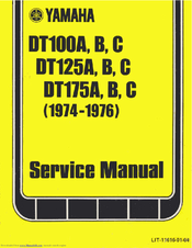 Yamaha DT125C 1974 Service Manual