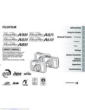 fujifilm finepix a800 manuals rh manualslib com Fuji FinePix Software Fuji FinePix S1