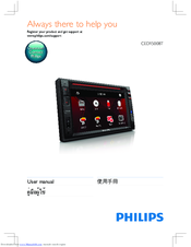 Philips CED1500BT User Manual