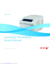xerox colorqube 8570 service manual pdf download rh manualslib com xerox 8570 service manual pdf ColorQube 8570 Error Codes