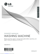 LG WM3997H*A Owner's Manual