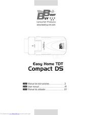 best buy easy home tdt compact ds manuals rh manualslib com Operators Manual Manuals in PDF