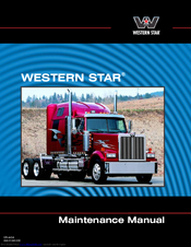 Western Star 4700 Maintenance Manual Pdf Download Manualslib