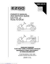 ezgo rxv shuttle 2 2 manuals rh manualslib com 2009 ezgo rxv service manual 2009 ezgo rxv service manual