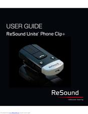 resound phone clip user manual pdf download rh manualslib com ReSound Radio ReSound Radio
