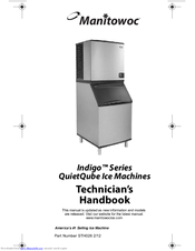 Manitowoc QuietQube Indigo Series Manuals on