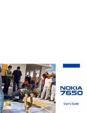 Nokia 7650 User Manual