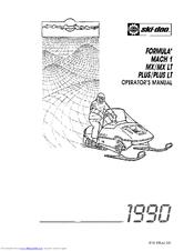 ski doo formula mx manuals rh manualslib com Wii Ski Game Wii Ski Slope