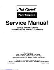 cub cadet 2145 manuals rh manualslib com Cub Cadet Model 1030 Vintage Cub Cadet
