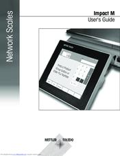 Mettler Toledo Impact M Manuals Manualslib