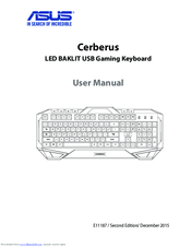 Asus Cerberus User Manual