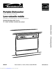 Kenmore 665.7441 Series Use & Care Manual