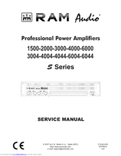 Ram audio 3004 manuals.