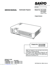 sanyo plc xu78 manuals rh manualslib com sanyo plc-xu78 manual sanyo plc-xu78 manual