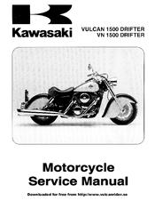 kawasaki vulcan 1500 drifter service manual