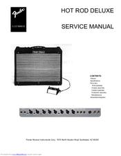 fender hot rod deluxe manuals rh manualslib com fender hotrod deluxe service manual fender hot rod deluxe owners manual