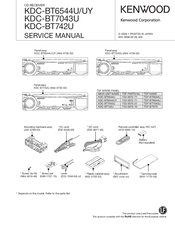 kenwood kdc bt742u radio cd manuals rh manualslib com kdc-bt742u manual en español kenwood radio kdc-bt742u manual
