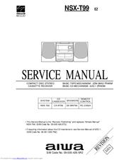 aiwa nsx t99 lh manuals rh manualslib com Aiwa Nsx T939 Aiwa Nsx D22