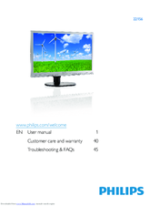 PHILIPS 221S3SB00 MONITOR DOWNLOAD DRIVERS