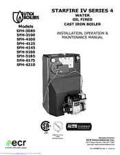 we have 2 utica boilers sfh-3100 manuals available for free pdf download:  installation, operation & maintenance manual