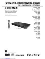 sony dvp ns508p service manual pdf download rh manualslib com sony tv manuals user guides sony tv manuals download