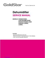goldstar dh404e manuals rh manualslib com Gold Star Knobs Goldstar Dehumidifier DH40