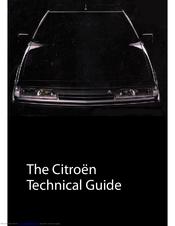 citroen xm technische manual